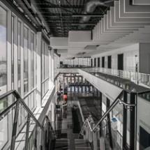 CDF Hall d'entrée , escalier.